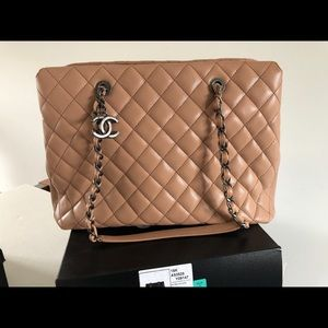 Chanel large shopping bag 30 cm